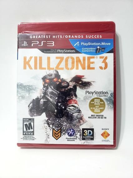 Jogo Killzone 3 - Ps3 Mídia Física Novo Lacrado