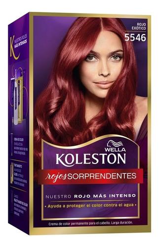 Tinta Koleston Kit 5546 Rojo Exótico