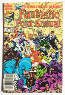 Fantastic Four Anual 18 (1984) Boda De Black Bolt Y Medusa.