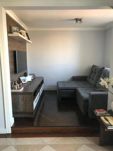 Apartamento Com 2 Dormitórios À Venda, 65 M² Por R$ 375.000,00 - Jardim Das Flores - Osasco/sp - Ap1632