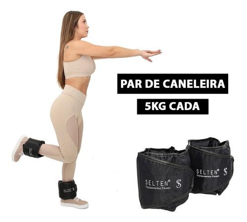 Imagem 1 de 8 de Caneleira 5kg De Academia Tornozeleira Peso Para Treinar