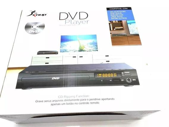 Dvd Player Com Entrada Usb Mais Controle Kp-d103