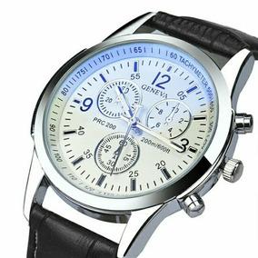 Relógio Geneva Masculino Social Luxo