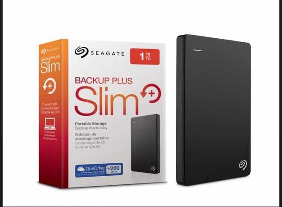 Hd Externo 1tb Seagate Backup Plus Slim