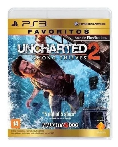 Uncharted 2: Among Thieves Ps3 Mídia Física Lacrado Rj
