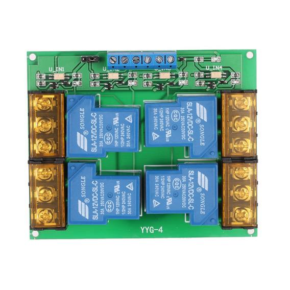 4-channel Control Board Mdulo Dc 12v 30a Rel