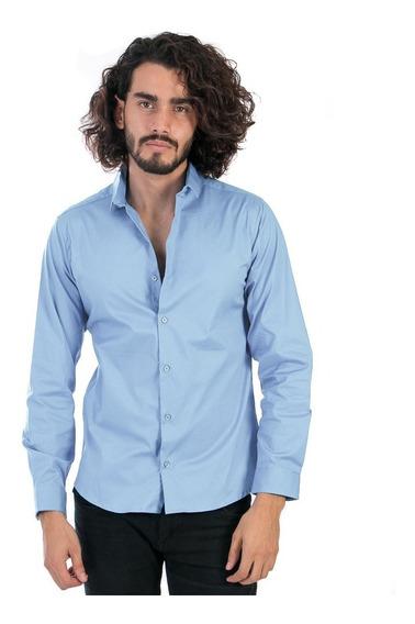 Camisa Slimfit Precio De Fabrica Corte Pegado Envío Gratis