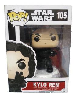 Funko Pop Nº105 Star Wars Kylo Ren Original Muñeco Funkopop
