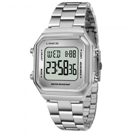 Relógio Lince Sdm616l Bxsx Feminino Prata - Refinado