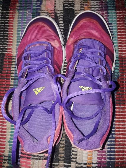 Zapatillas adidas Rosadas Y Violeta