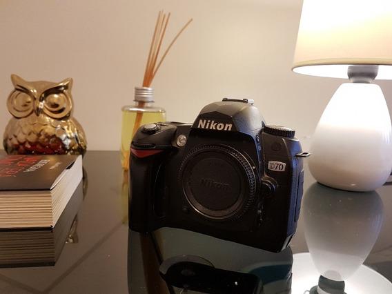 Câmera Digital Nikon D70 Dslr