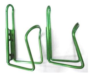 Suporte De Caramanhola Zt3 Verde Aluminio ( Par ).