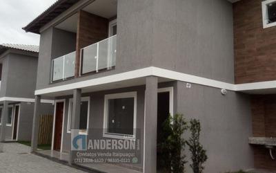 Excelente Casa Duplex C/ 2 Qts, Sendo 2 Suíte C/ Vista Para O Mar. Prox. Barroco.