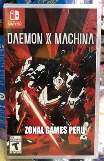 Daemon X Machina Para Switch - Ya Disponible - Envíos