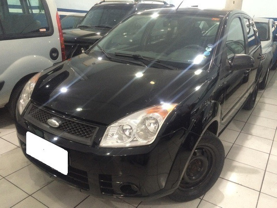 Ford Fiesta Hatch 1.6 Preto 8v Flex 4p Manual 2008