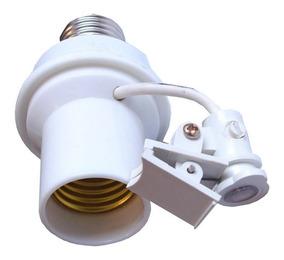 Soquete Sensor Fotocelula Rele Iluminacao E27 Coruja