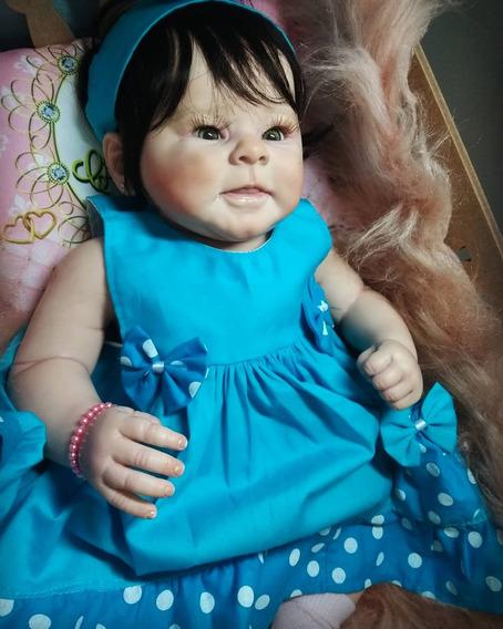 Bebê Reborn Greta Corpo Inteiro Silicone Vini