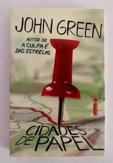 Livro Cidades De Papel (2013) John Green 1ª Edição Nacional!