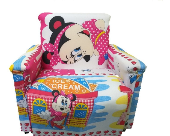 Mini Sofa Kids Infantil (poltrona. Sofazinho) Kids