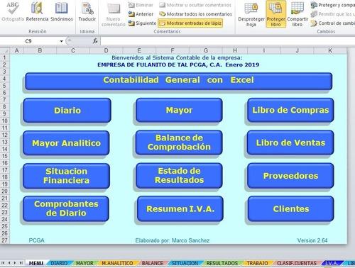 Imagen 1 de 10 de Sistema Contable Con Libro De Compras Y Ventas
