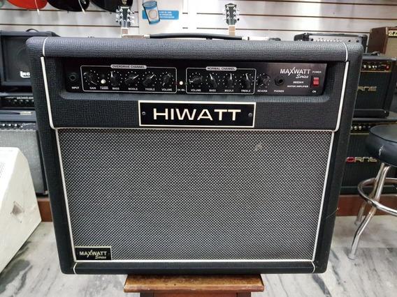 Cubo Guitarra Hiwatt G 50 Cm R, Novo