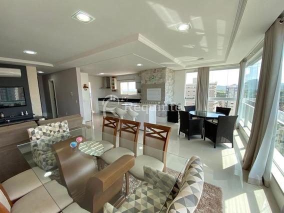 Apartamento Mobiliado Com 3 Suítes Em Itapema - 1610