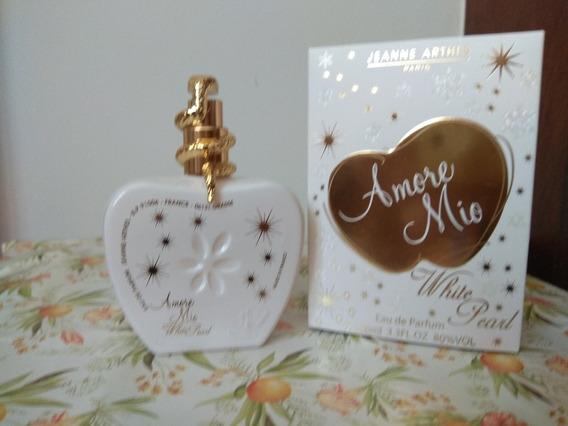Perfume Amore Mio White Pearl Jeanne Arthes 100 Ml Usado