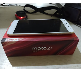 Smartphone Moto Z2 Play Dual Chip 64gb Cor Ouro Funcionando