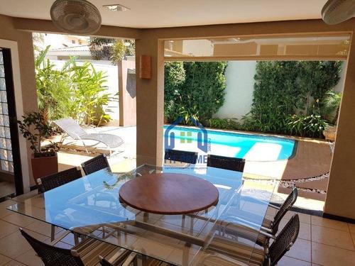 Casa Com 4 Dormitórios À Venda, 380 M² Por R$ 1.500.000,00 - Parque Residencial Damha Iii - São José Do Rio Preto/sp - Ca0943