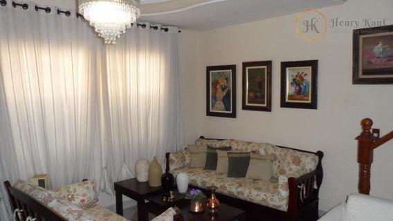Oportunidade!!! Sobrado Em Condomínio Com 3 Dormitórios Sendo 1 Suíte E 1 Vaga, Água Rasa, São Paulo. - So0048