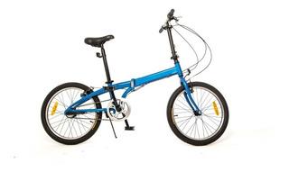 Bicicleta Plegable Philco Rodado 20 Aluminio