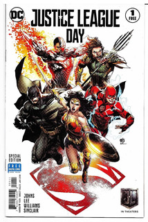 Justice League Day #1 Edición Especial