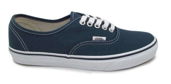 Tenis Vans Authentic Vn0a38emmj7 Canvas Dark Slate True Whit