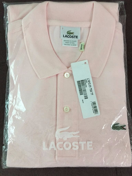Camisa Polo Lacoste :: Rosa