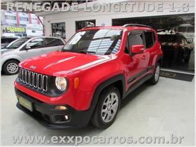 Jeep Renegade Longitude 1.8 Flex - Ano 2016 - Bem Conservada