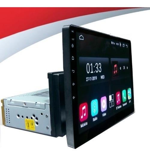 Multimídia Universal 1 Din Android Tela 10.1 Argo Cronos
