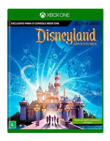 Kinect Disneyland Adventures Xbox One Mídia Física Lacrado