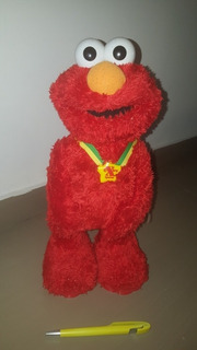 Elmo Extra Especial Fisher Price Plaza Sesamo