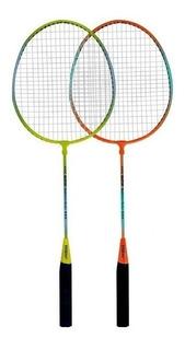 2 Raquetas Badminton + 1 Pluma + Funda Sixzero Kit Cuotas