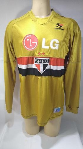Camisa De Futebol Goleiro São Paulo 2003 Rogério Ceni Mito 1