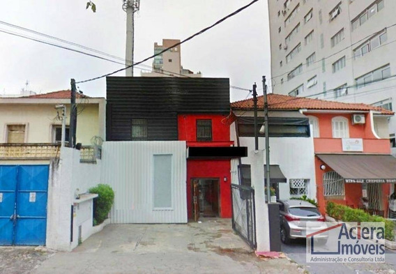 Casa Comercial Para Incorporação, 371 M² - Jardim Paulista! - Ca2283