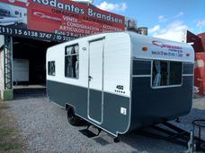 Casa Rodante Brandsen Mod:4,50 Mts C/aluminio Nueva 0km 2018