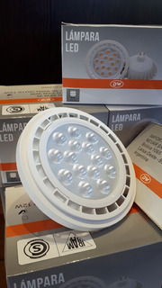 Lampara Led Ar-111. 220v. Gu10. Luz Calida