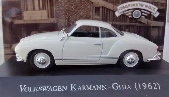 Vw Karmann-ghia 1962 1:43 Carros Miniaturas Fusca Réplicas