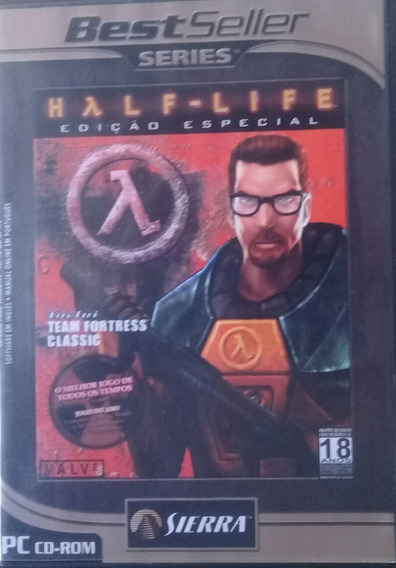Jogo Pc Half-life Edição Especial Para Colecionador 2 Discos