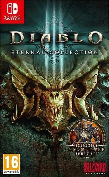 Mídia Física Diablo Iii 3 Eternal Collection Switch -lacrado