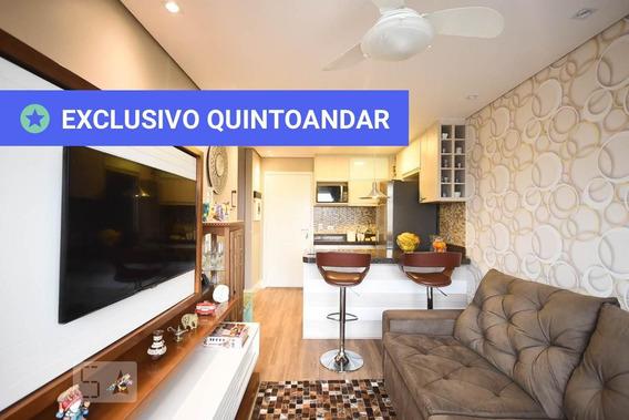 Apartamento No 8º Andar Mobiliado Com 1 Dormitório E 1 Garagem - Id: 892957167 - 257167