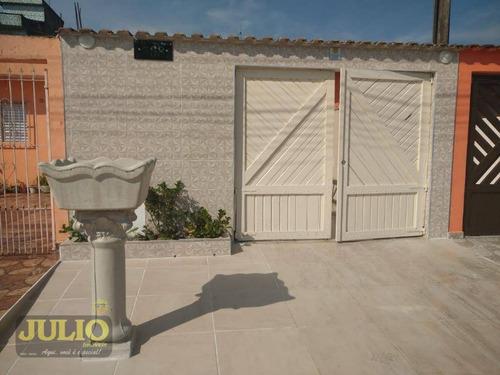 Imagem 1 de 14 de Casa Com 2 Dormitórios À Venda, 60 M² Por R$ 235.000,00 - Balneário Itaguaí - Mongaguá/sp - Ca4068