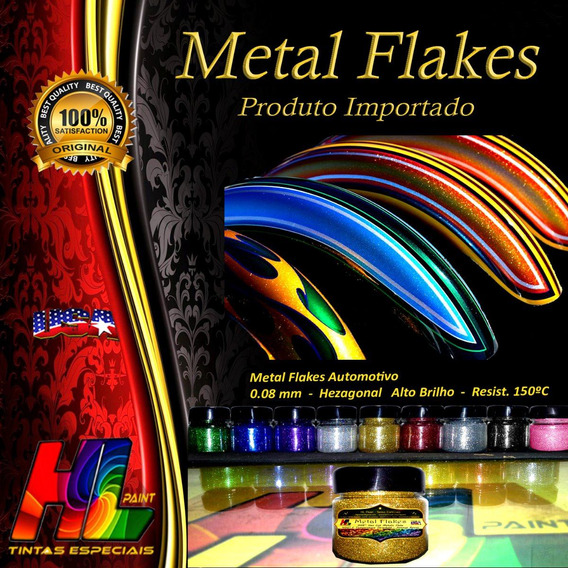 Metal Flakes 50gr + Kandy Pronto 900ml + Base P Kandy 300ml