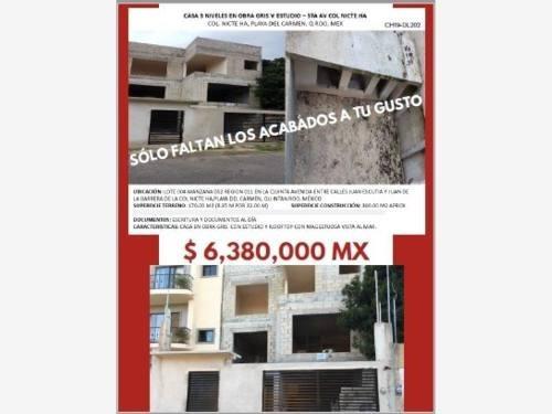 Casa En Venta En Playa Del Carmen - Col. Nicte Ha